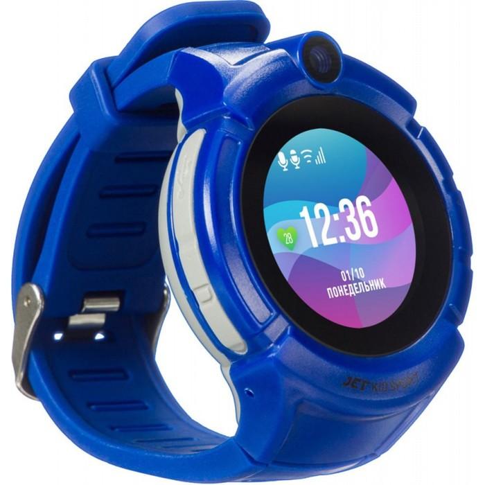"""Смарт-часы Jet Kid Sport, 50мм, 1.44"""", темно-синий"""
