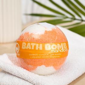 """Бурлящий шар для ванны Savonry """"Оранжевое настроение"""" (Мандарин), 160 г"""