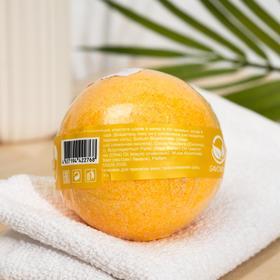 "Бурлящий шар для ванны Savonry ""Банано бум"" с увлажняющими маслами, 160 г - фото 7311268"
