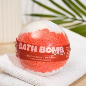 """Бурлящий шар для ванны Savonry """"1001 ночь"""" (с экстрактом персика), 160 г"""