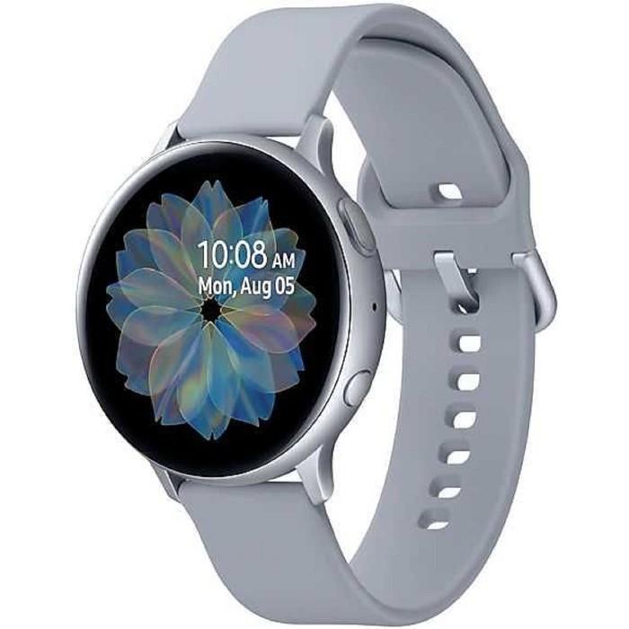 "Смарт-часы Samsung Galaxy Watch Active 2, 44мм, 1.4"", серебристый"