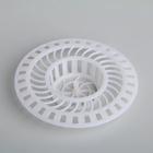 Фильтр для раковины, d=3 см, цвет белый