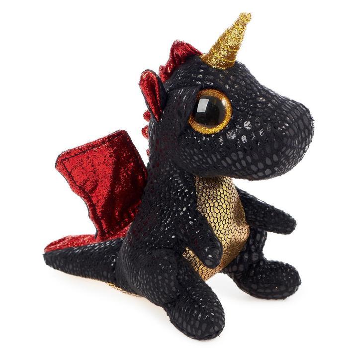 Мягкая игрушка «Дракон с рогом Grindal», 15 см