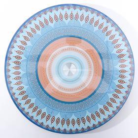 Подставка для торта вращающаяся «Кружево», d=28 см