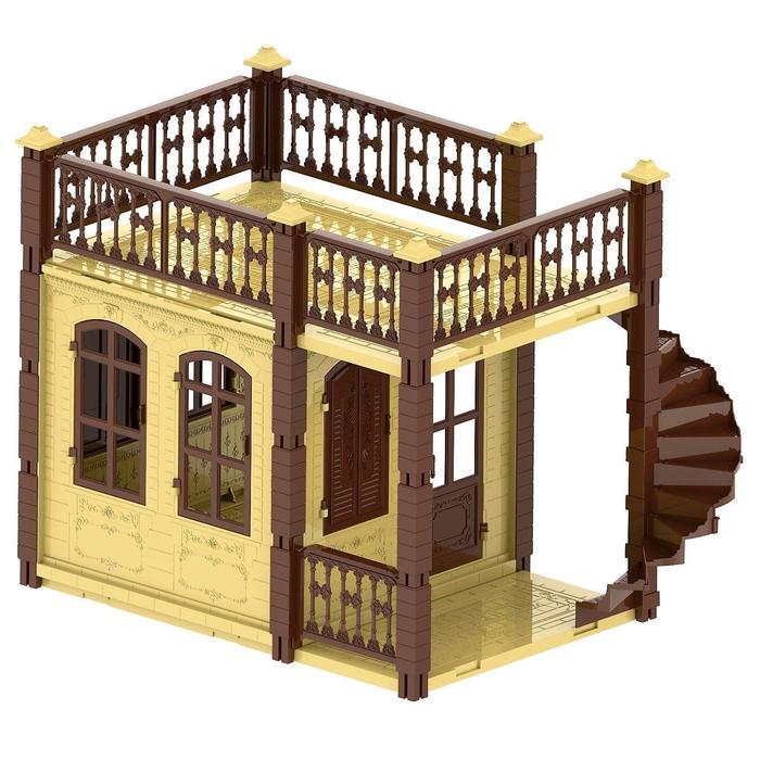 УЦЕНКА Домик для кукол «Замок Принцессы», 1 этаж, цвет бежевый