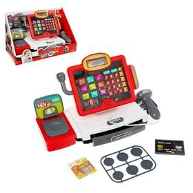Игровой набор «Касса-калькулятор», с весами и сканером