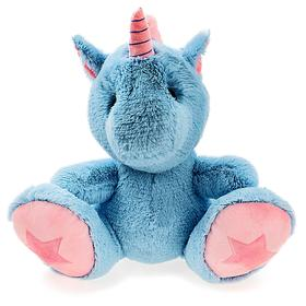 Unicorn Zephyr soft toy, blue, 60 cm EZ70 / 60