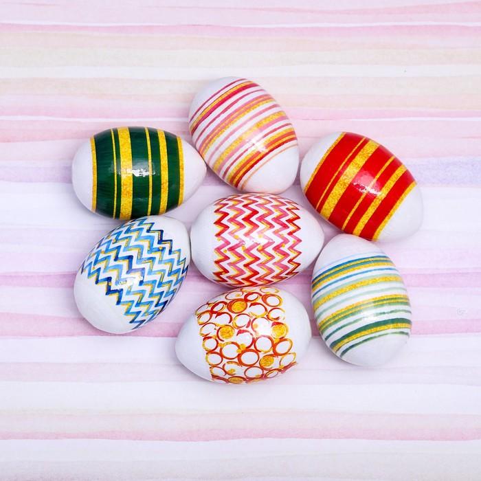 Пасхальная термоплёнка «Яркая геометрия», на 7 яиц