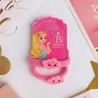 """Резинка для волос """"Облачко"""" (набор 2 штуки) розовый"""