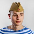 Пилотка ГОСТ хлопок 100% р-р 52