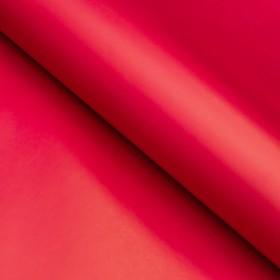 Бумага матовая, однотонная, 49 х 70 см. Красная