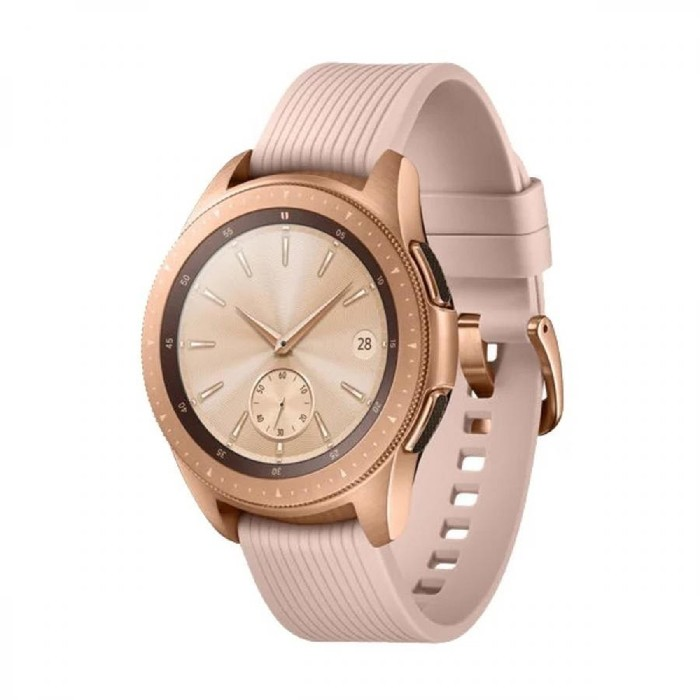 """Смарт-часы Samsung Galaxy Watch, 42мм, 1.2"""", розовое золото"""