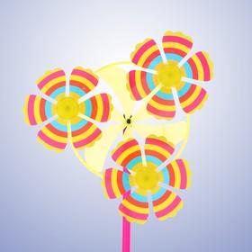 Ветерок «Цветочки», цвета МИКС