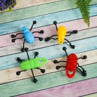 """Velcro """"Insects"""" on glass slide, kinds MIX"""