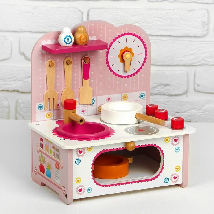 Игровой набор «Маленькая кухонька» посуда в наборе 28.5×9×32 см
