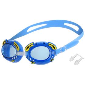 Очки для плавания, детские, цвета МИКС Ош