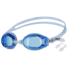 Набор для плавания взрослый, 2 предмета: очки, беруши, цвета МИКС Ош