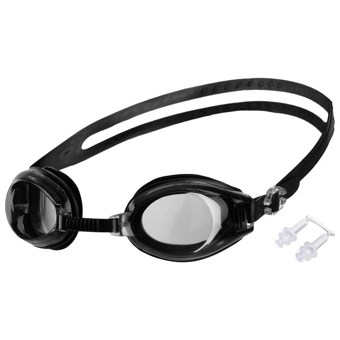 Очки для плавания взрослые, цвета МИКС