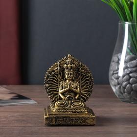 """Netsuke Ltd bronze """"Shiva"""" 10x7,5x8,2 cm"""