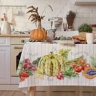 """Скатерть """"Этель"""" Vegetable 180х147 см, 100% хлопок, репс 210 г/м2"""