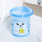 """Sippy cups children's """"Bear of the North"""" with rigid spout 200 ml, colour blue"""