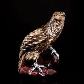 """Копилка """"Орёл на скале"""", бронзовый цвет, 37 см,"""