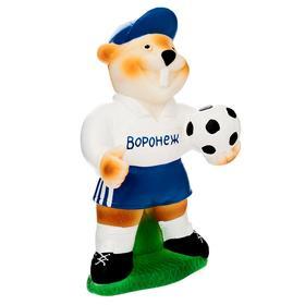 Резиновая игрушка «Бобер-футболист» СИ-835