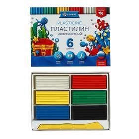 Пластилин GLOBUS «Классический», 6 цветов, 120 г, рекомендован педагогами