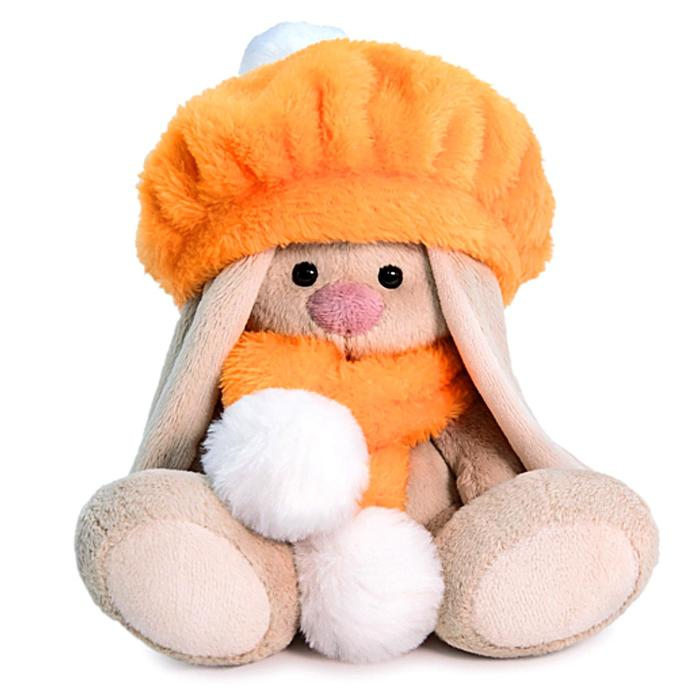 Мягкая игрушка «Зайка Ми в оранжевом берете», 15 см - фото 4467670