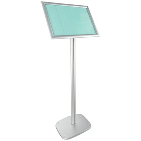 Клик-рамка на стойке для рекламы А3 OfficeSpace, алюминиевый профиль, 25мм 292622