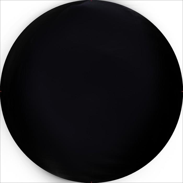 Чехол запасного колеса R16, 17 диаметр 77 см, экокожа, черный