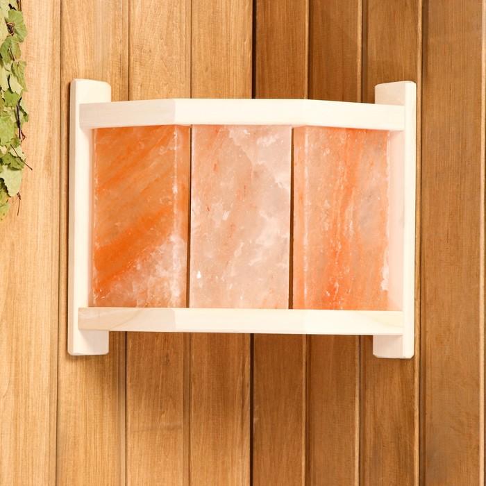 Абажур угловой с гималайской солью