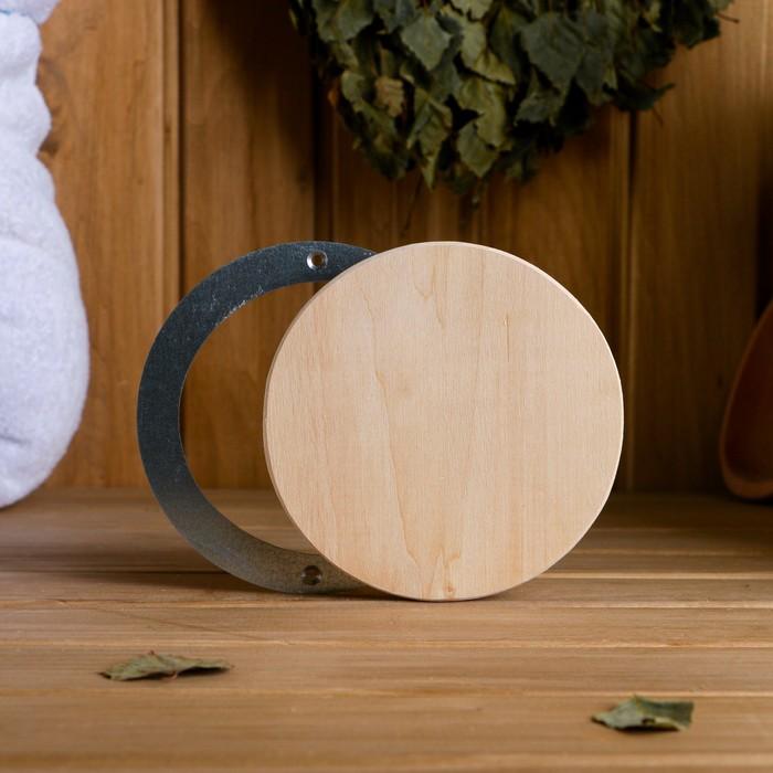 Вентиляционный клапан круглый, оцинкованное основание, D=10 см