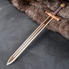 """Сувенир деревянный """"Меч"""", Тип 3, 60 см, массив бука"""