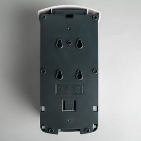 Диспенсер-пена для жидкого мыла механический, 1 л, пластик - фото 4656618