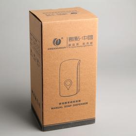 Диспенсер-пена для жидкого мыла механический, 1 л, пластик - фото 4656620