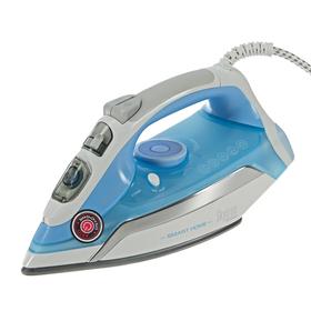 Утюг REDMOND SkyIron RI-C255S, 2500 Вт, керамическое покрытие, управление телефоном, голубой