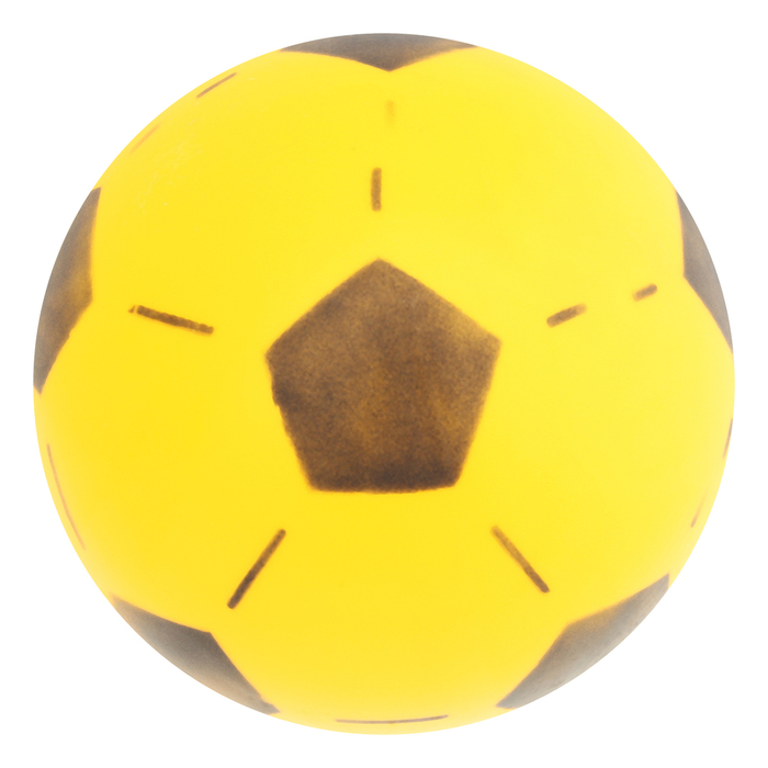 Мяч футбольный d=20см 50гр, цвета МИКС