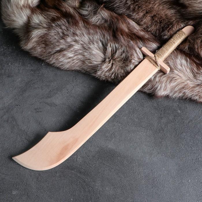 """Сувенир деревянный, """"Мачете"""", 60 см, массив бука"""
