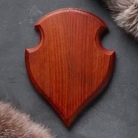 """Доска разделочная """"Медальон"""", массив дуба, 25х20х3 см"""