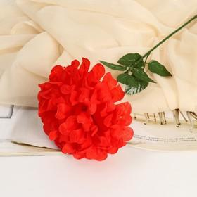 Цветы искусственные 'Герань королевская', 16*60 см, красный Ош