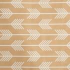 Ткань набивная «Полоски» 3 м, цвет коричневый, ширина 160 (± 5 см), сатин, 100% хлопок