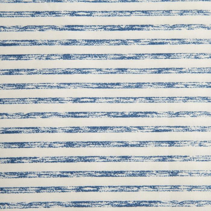 Ткань набивная «Серые полоски» 1 м, ширина 160 (± 5 см), сатин, 100% хлопок