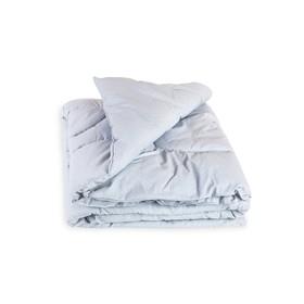 Одеяло стеганое, размер 110 × 140 см, бязь, холлофайбер