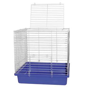 Клетка для кроликов с пласт. поддоном разборная, 50 х 56 х 40 см, микс цветов