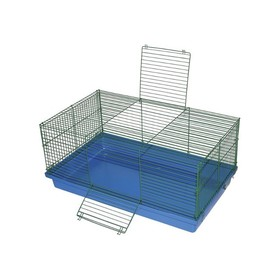 Клетка для кроликов, разборная, 90 х 55 х 40 см, микс цветов