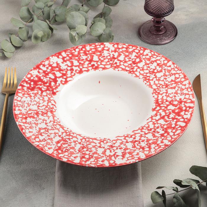 "Тарелка для пасты 31 см, h 5,5 см, 500 мл ""Corallo"" - фото 724590268"
