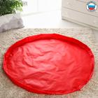 Сумка «Котик», коврик для игрушек, красный, d150 см, оксфорд