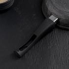 Сковорода «Гранит Бриллиант», d=22 см, съёмная ручка, стеклянная крышка - фото 732822