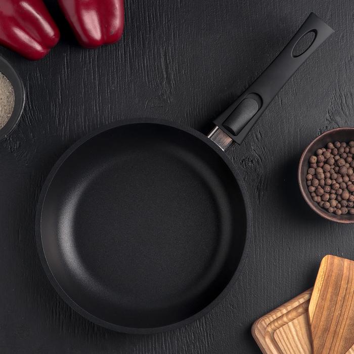 Сковорода «Престиж Брилиант», d=22 см, съёмная ручка, антипригарное покрытие